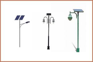 Street Light Pole in Gujarat